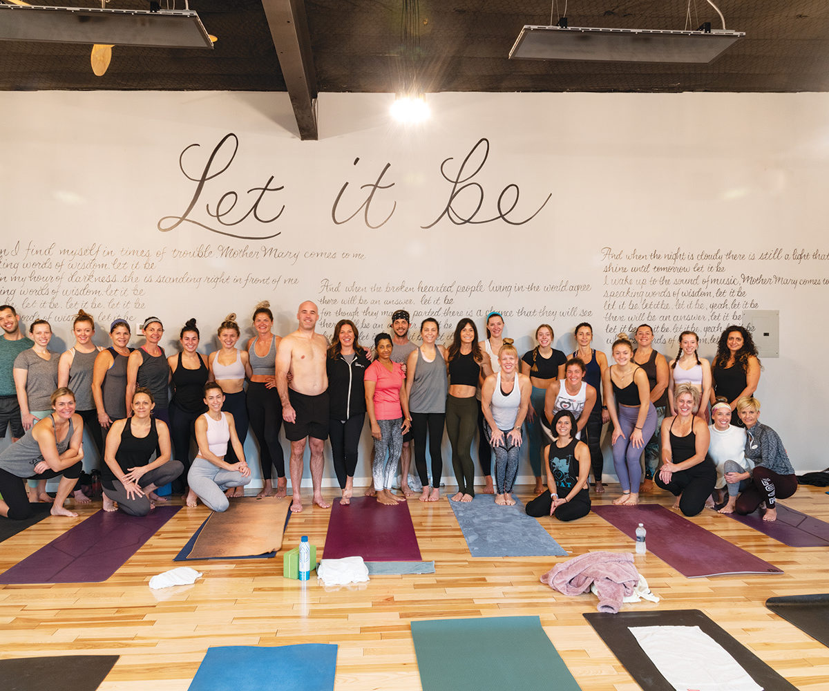 Mimi Vanderhaven Harmony Yoga Studio Offers A Huge Variety Of