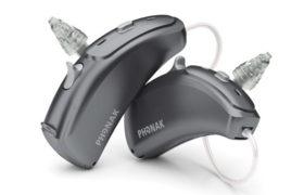 Advanced Audiology Concepts 4 Phonak Hearing Aid Black