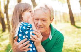 Elder Hearing With Child