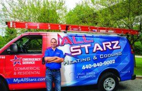 All Starz Heating  Cooling 1 Van