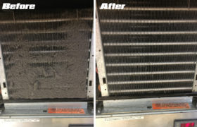 All Starz Heating  Cooling 5 Coil Before And After