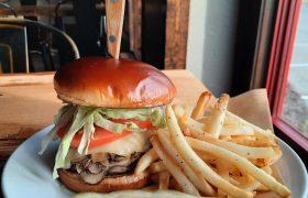 Brown Barn Tavern Alpine Swiss Burger