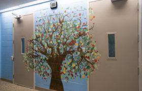 Crossroads Health 3 Interior Mural Tree
