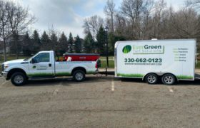 Ever Green Turf Solutions Work Truck