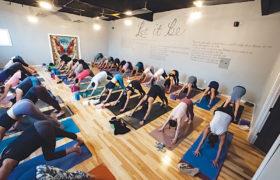Harmony Yoga Studios 6 Class
