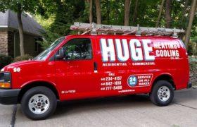 Huge Heating Cooling Van