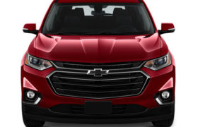 Chevrolet Traverse Frontview Red