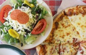 Mama Juliannes 9 Salad And Pizza Combo