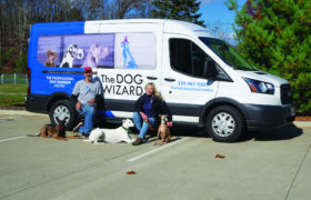 The Dog Wizard 2 Owners With Van