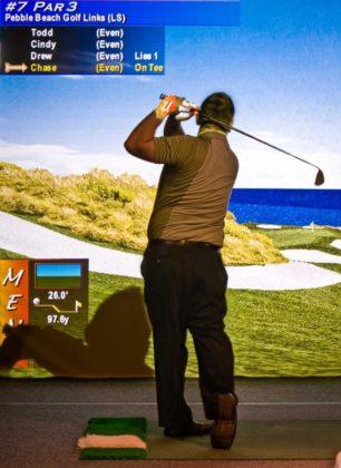 Bunker Hill Golf Course-Indoor Golf Simulator Membership ($900 Value)