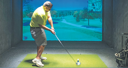 Bunker Hill Golf Course-2 Hours of Indoor Golf Simulator ($64 Value)