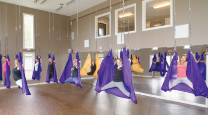 Synergy Sports Therapy-Antigravity Yoga OR Bellicon Rebounder 4 Pack ($72 Value)