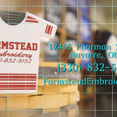 Farmstead Embroidery 2017