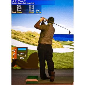 Bunker Hill Golf Course-Indoor Golf Simulator Membership ($900 Value)
