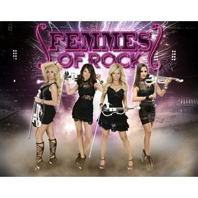 Femmes of Rock 12/7 7pm Show Only at Packard Music Hall ($40)